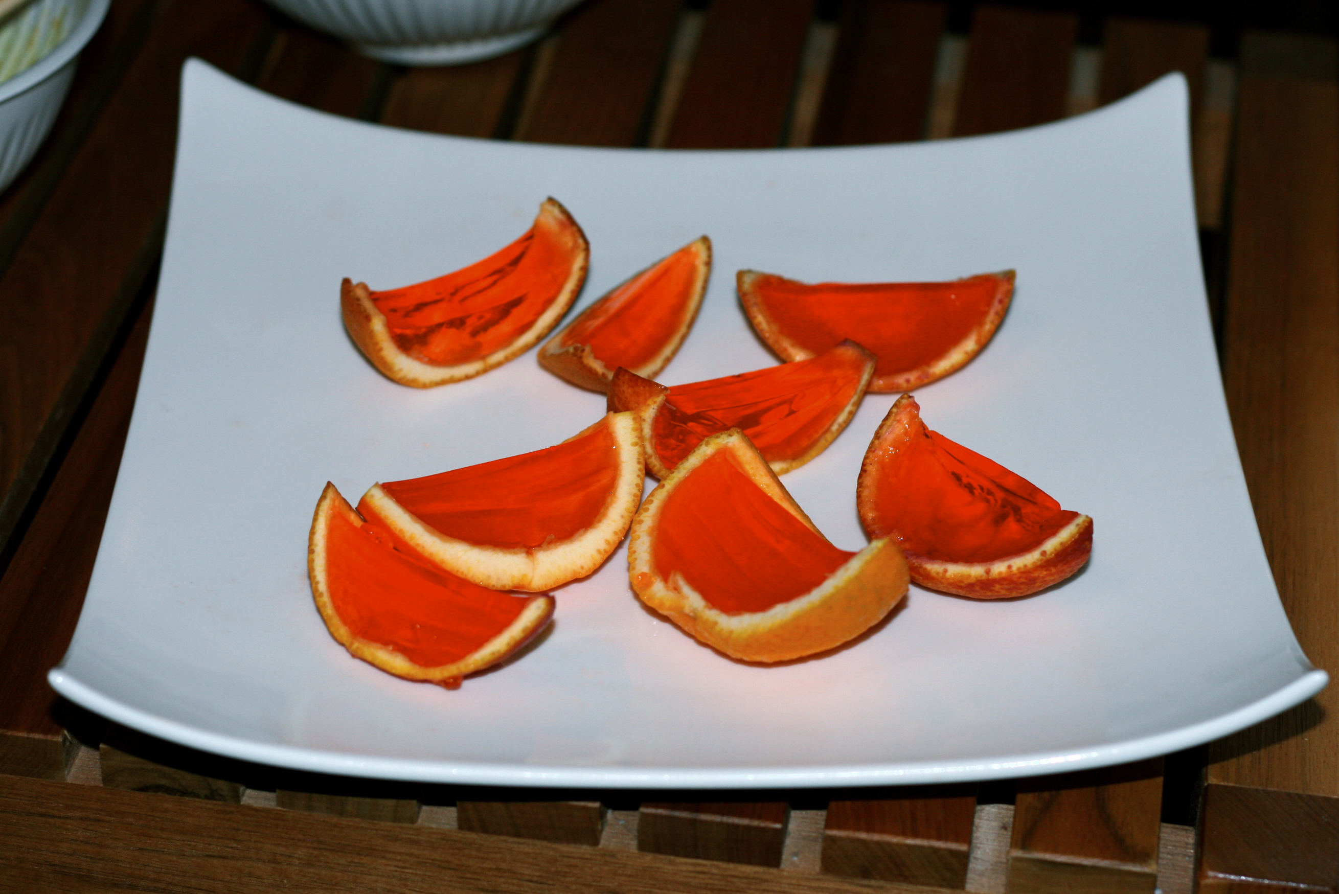 Nermo » Orange Slice Jello Shots